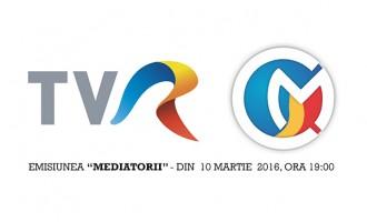 """""""Mediatorii"""" – o noua emisiune la TVR"""